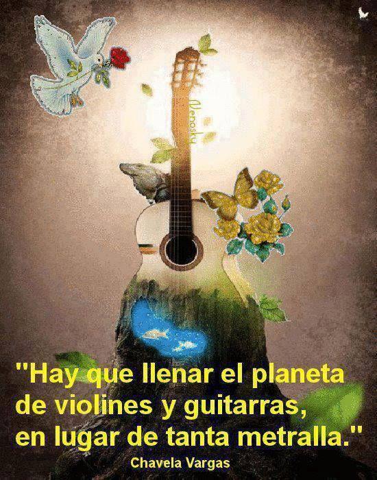 Palabras Imagen De Hay Que Llenar El Planeta De Violines Y