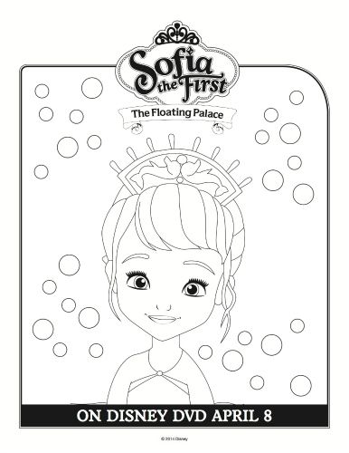 disney sofia the first coloring sheet coloring book pagesprincess