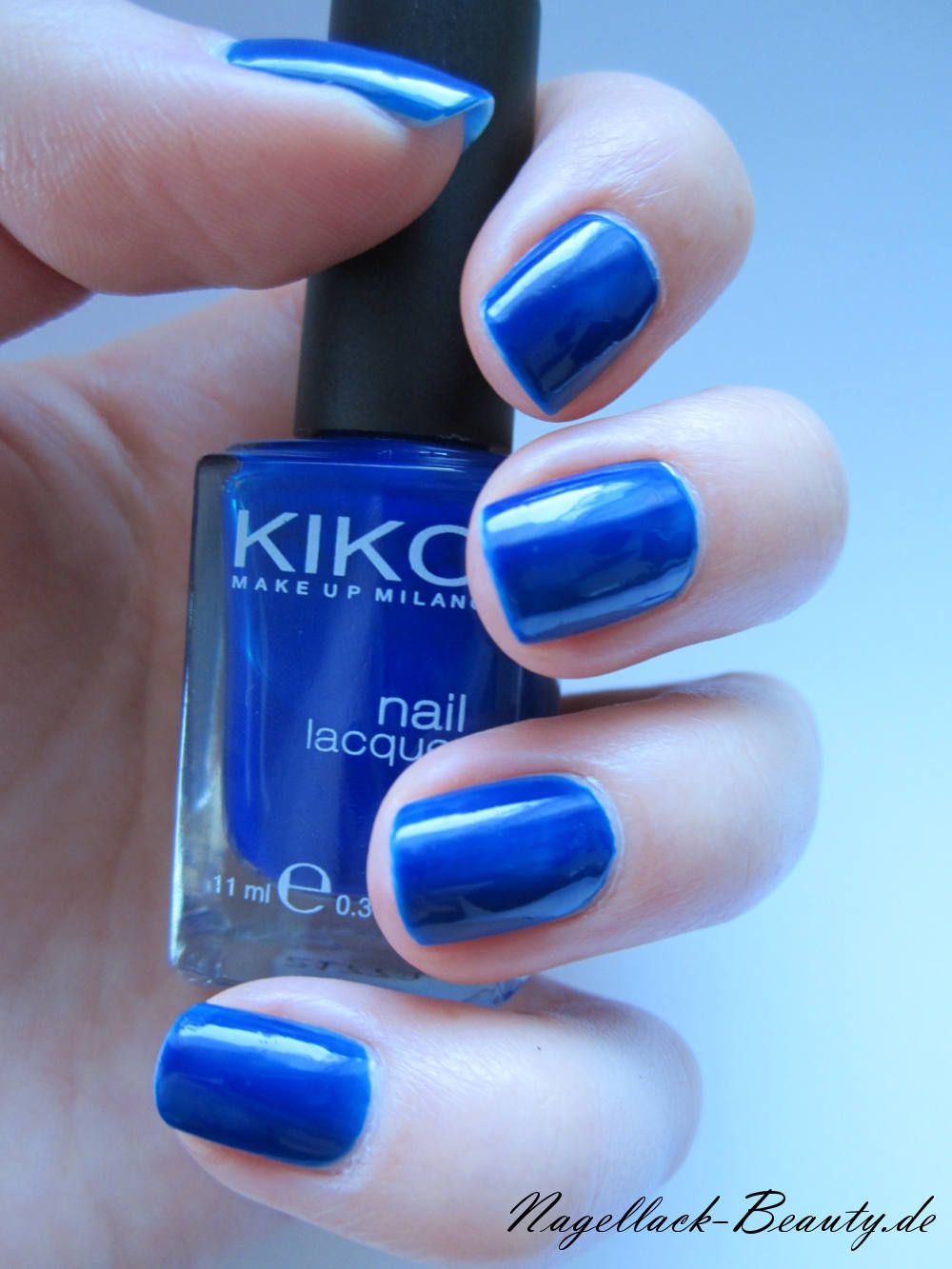 KIKO 335 blau - http://www.nagellack-beauty.de/kiko-335-blau/ Ein ...