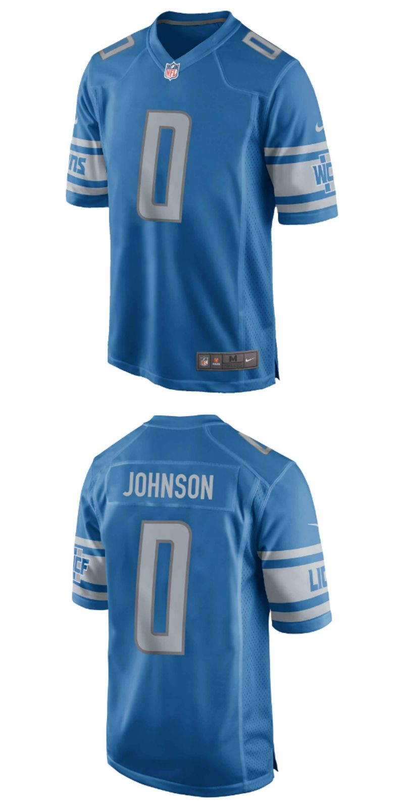 finest selection dab42 0fb8c UP TO 70% OFF. Kerryon Johnson Detroit Lions Nike 2018 NFL ...