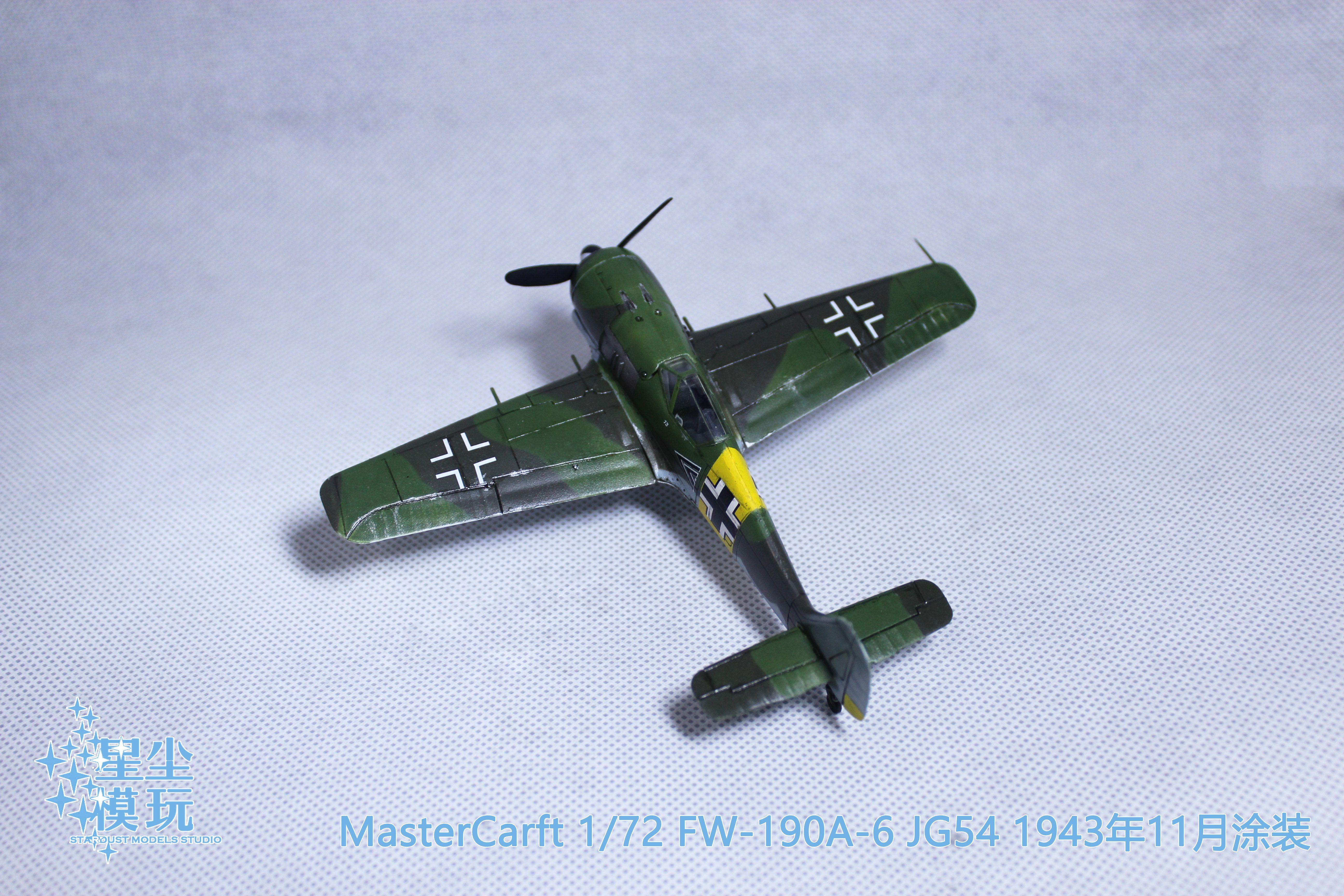 Fw 190 Mistercraft 1 72 Fighter Jets