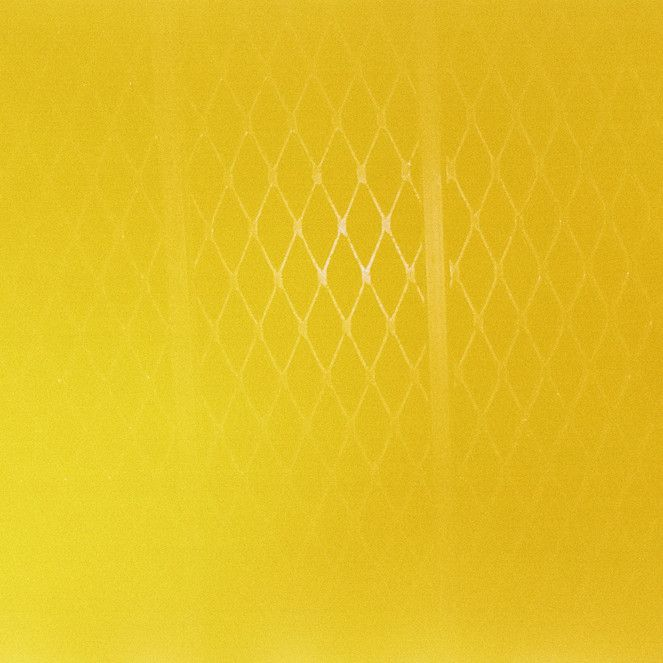 Untitled (yellow grid) - Eric Chakeen