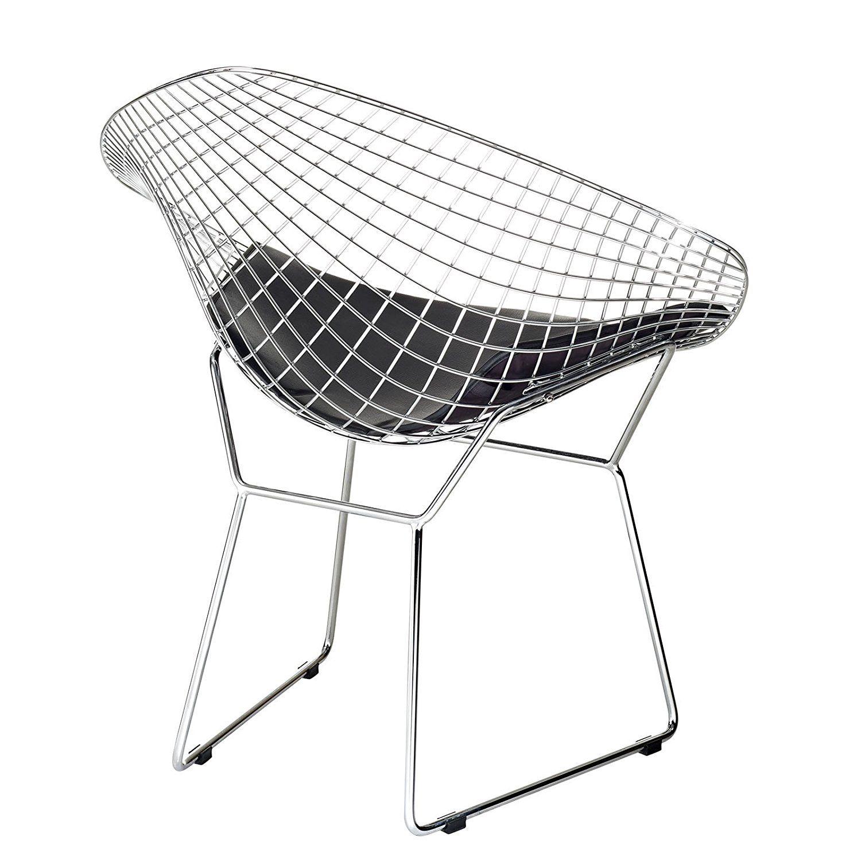 bertoia style chair. Modway Bertoia Style Diamond Chair