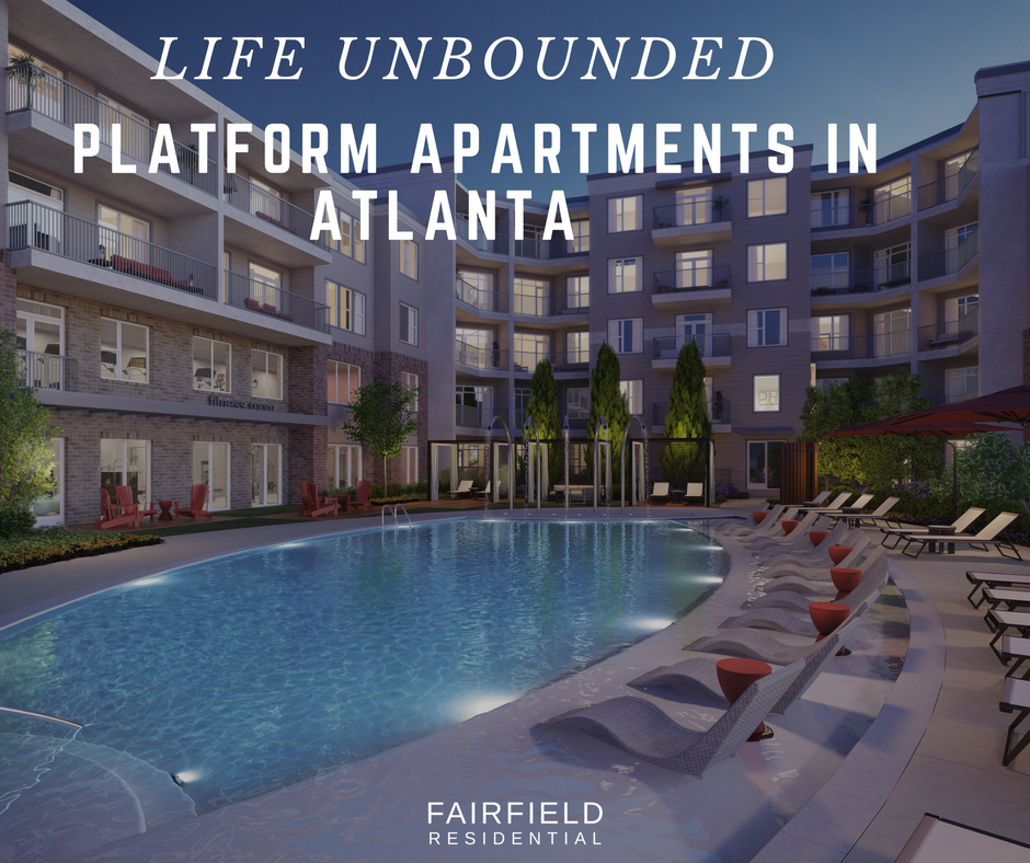 Life Unbounded At Platform Apartments In Atlanta Fairfield Residential Residential Eco Friendly Living Luxurious Bedrooms