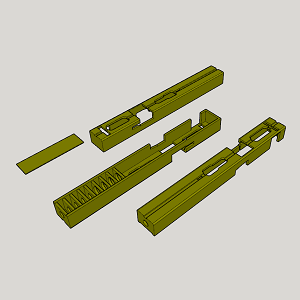 Pin by MagazineSpeedloader on Glock | 3d cad models, Guns, Model
