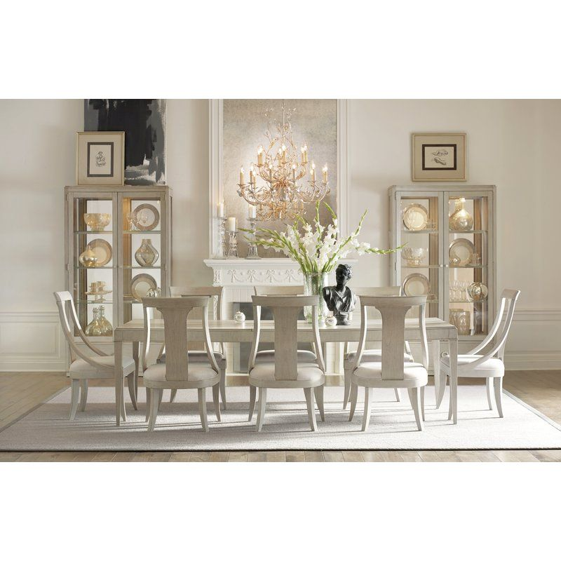 Cinema 9 Piece Extendable Dining Set Rectangular Dining Room Set Bright Furniture Casual Dining Rooms