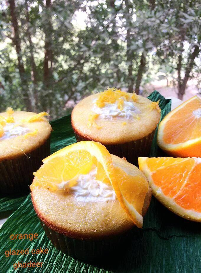 كب كيك البرتقال المقطر Fruit Food Orange
