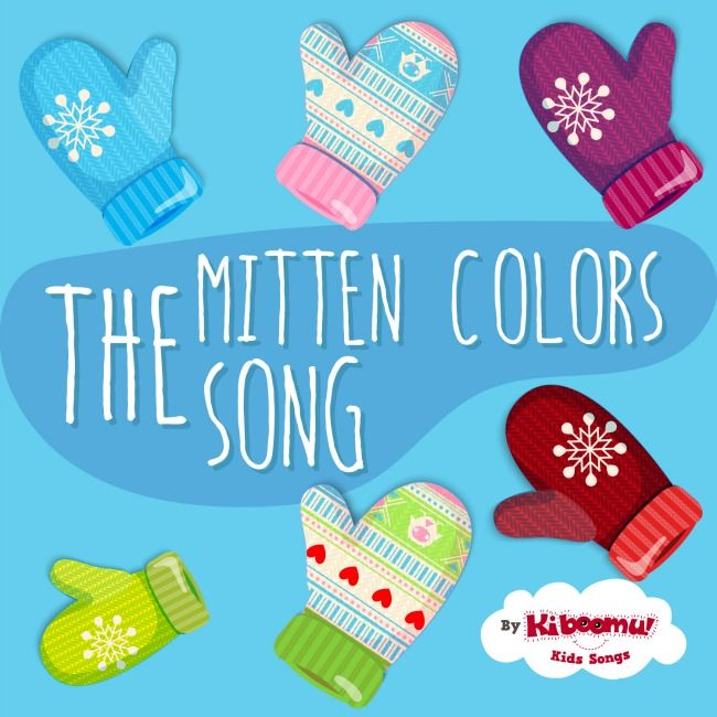 Learn colors with The Mitten Colors Song! Perfect for a ...