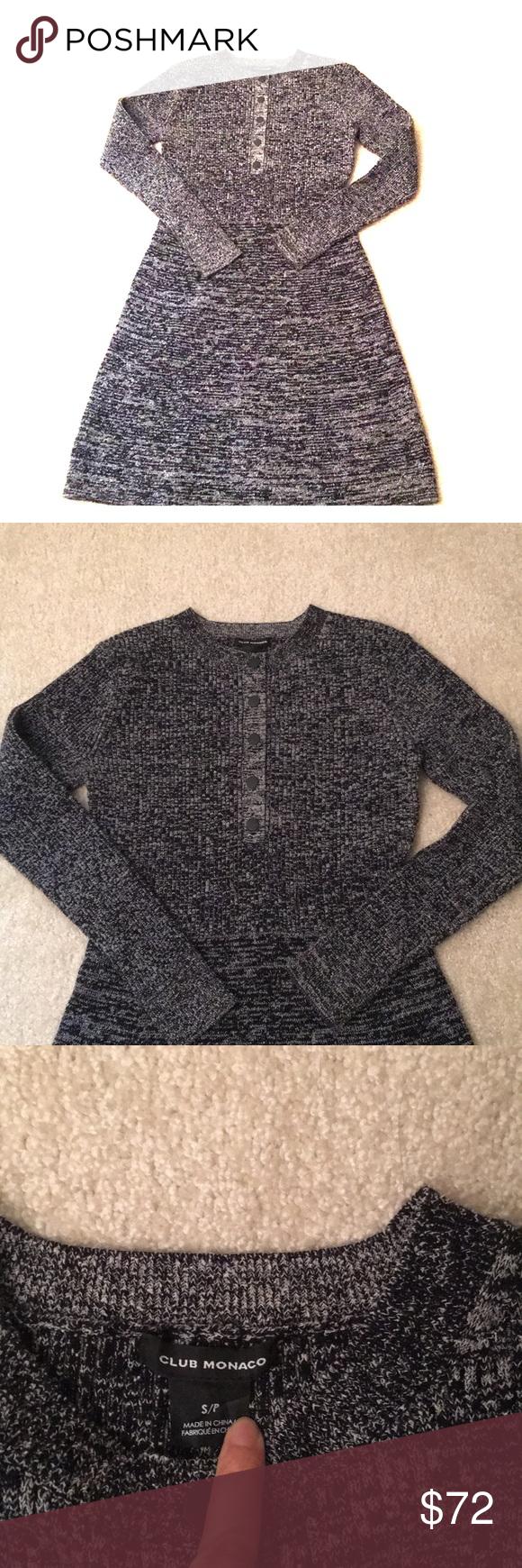 Club Monaco wool sweater dress | Wool sweater dress, Sweater