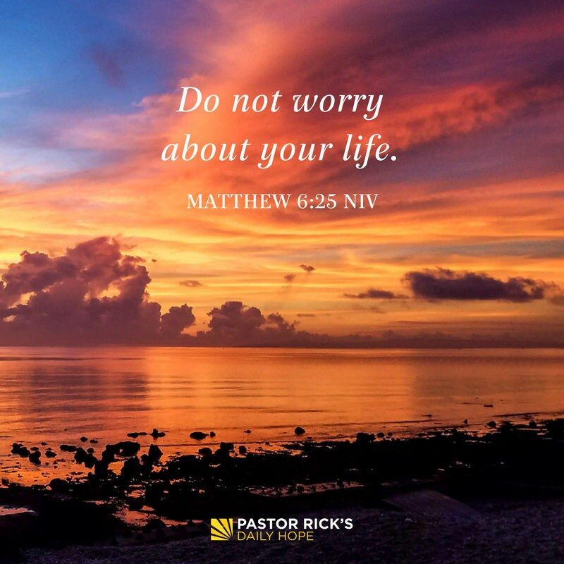 Four Reasons Why You Shouldnt Worry Attraction Bible Bible