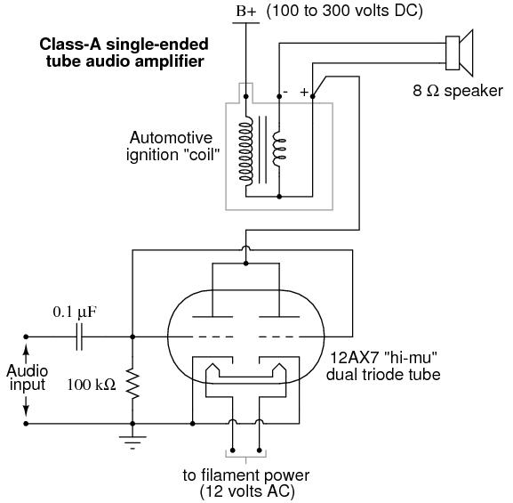 vacuum tube audio amplifier discrete semiconductor. Black Bedroom Furniture Sets. Home Design Ideas