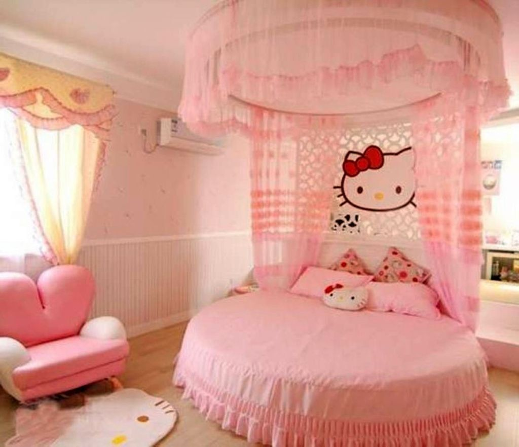 Room Cute Girls Bedroom Ideas With Hello Kitty