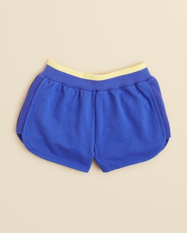 Splendid Girls' Contrast Waist Sporty Shorts - Sizes 7-14
