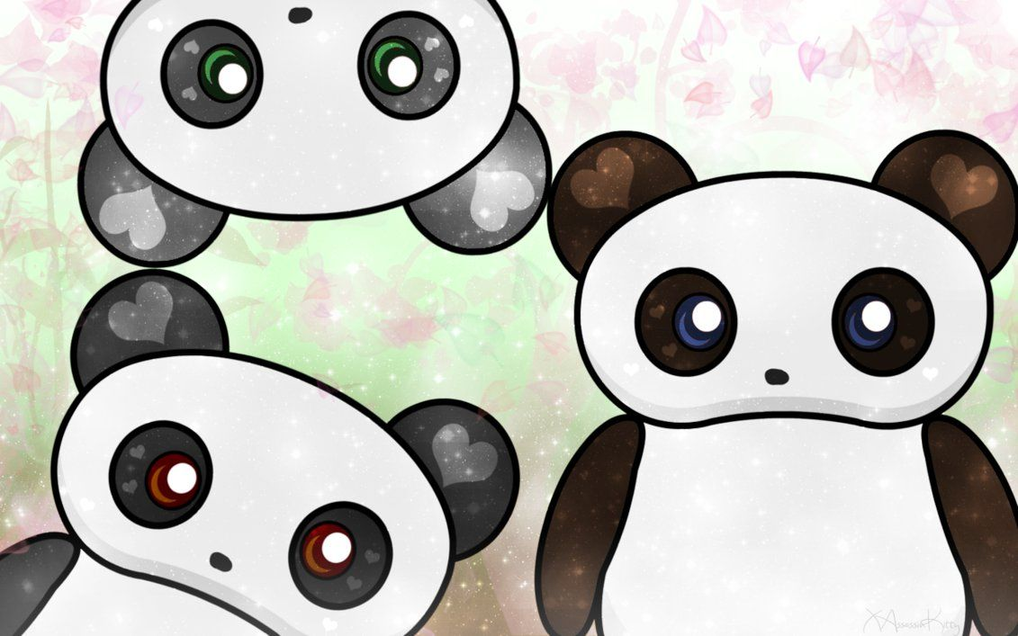 Kawaii Panda Desu Wallpaper For My Bestie By Kosmic Rainbow On