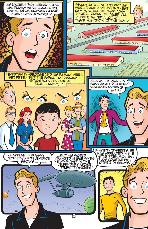 Archie Comics Wrote An Awesome George Takei Biography Archie Comics Comics Archie Comics Riverdale