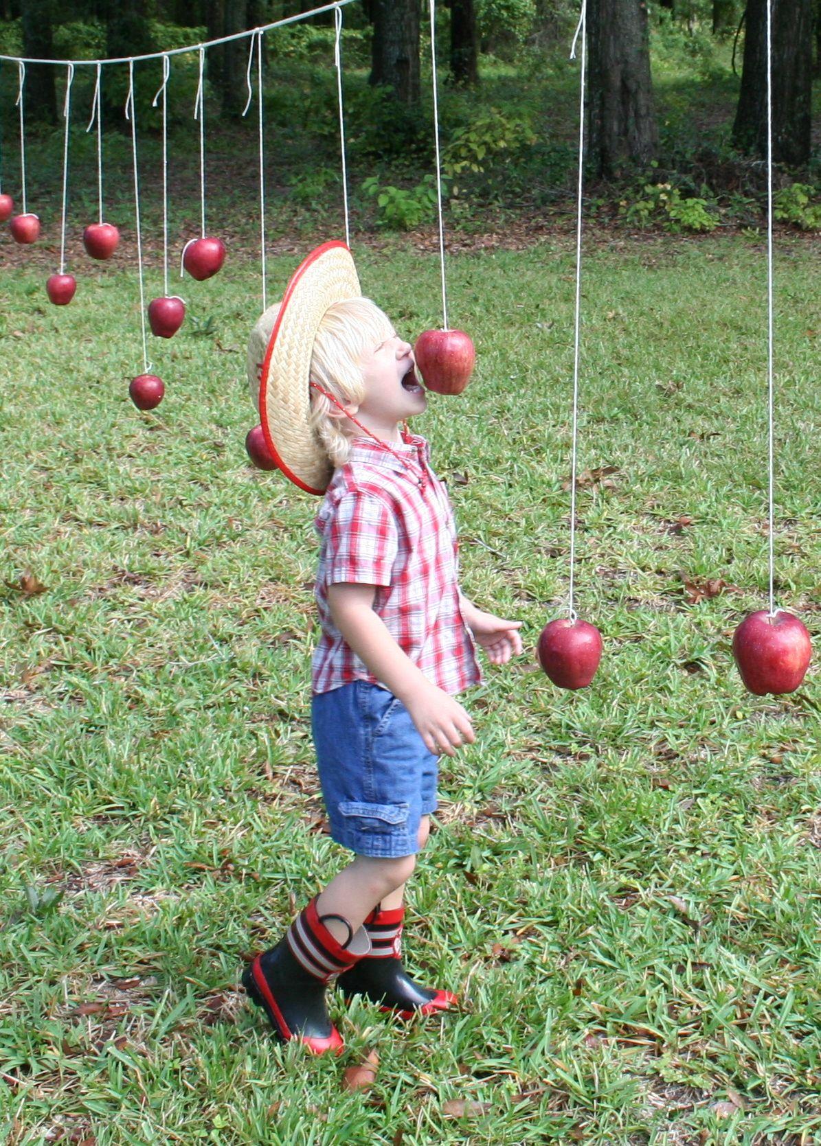 Alternative To Bobbing For Apples