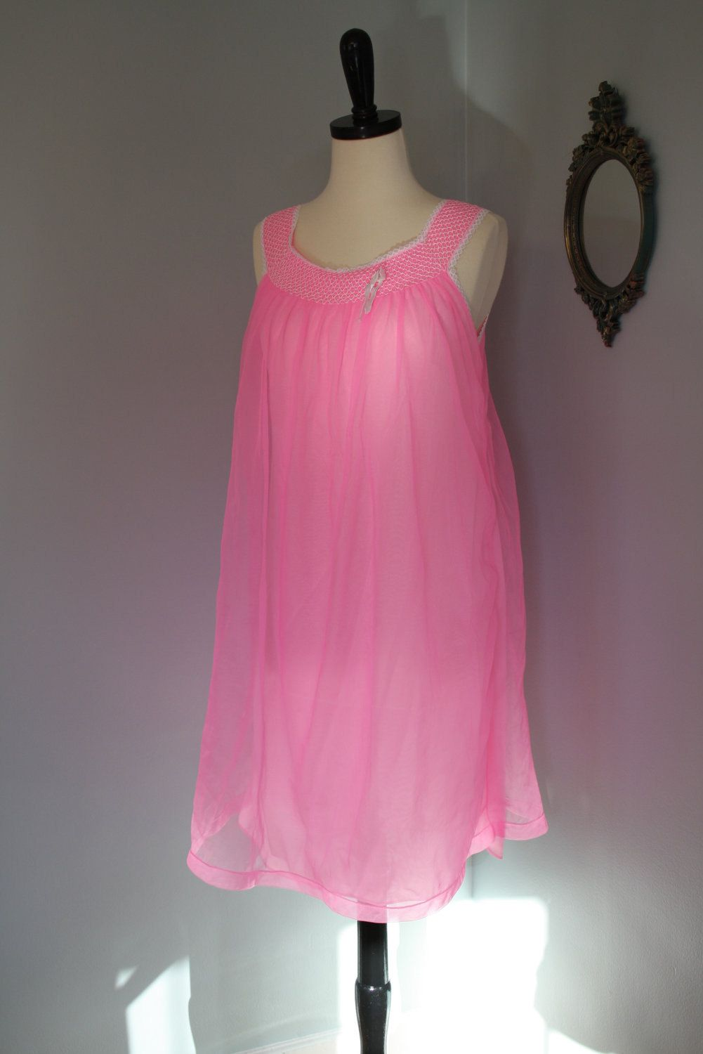Baby Doll Chiffon Dress