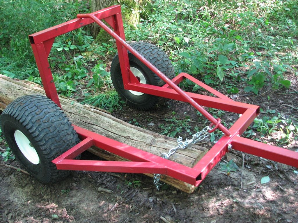 ATV Log Skidder ATV Log Arch Hauler Ball Hitch Adapters