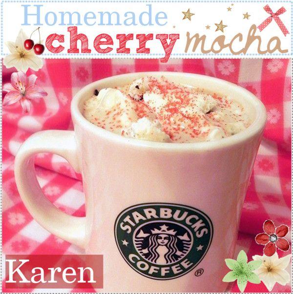 Homemade Cherry Mocha