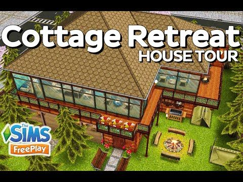 the sims freeplay cottage retreat original house design