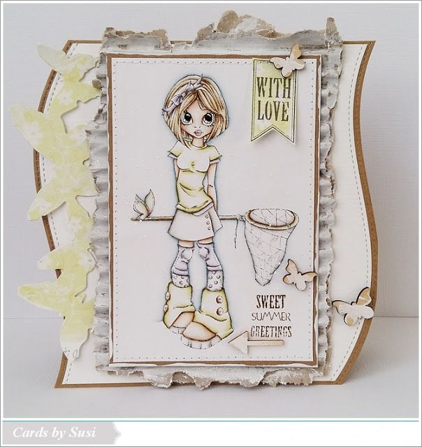 Cards by Susi: #117 Stempel Magie - Summer/Sommer
