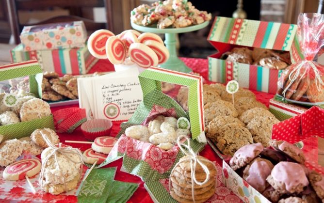 Ideas For A Christmas Cookie Party Cookie Swap From Paula Deen