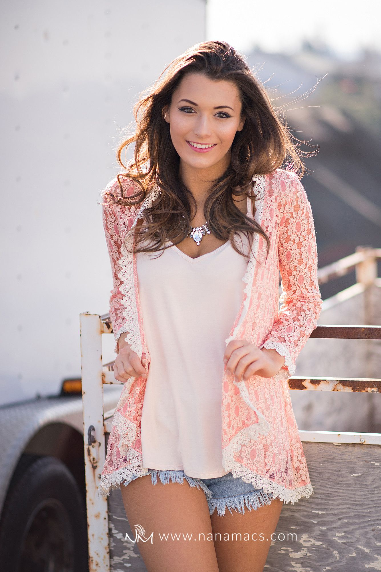 What A Girl Wants Lace Crochet Cardigan (Peach) - NanaMacs.com - 3 ...