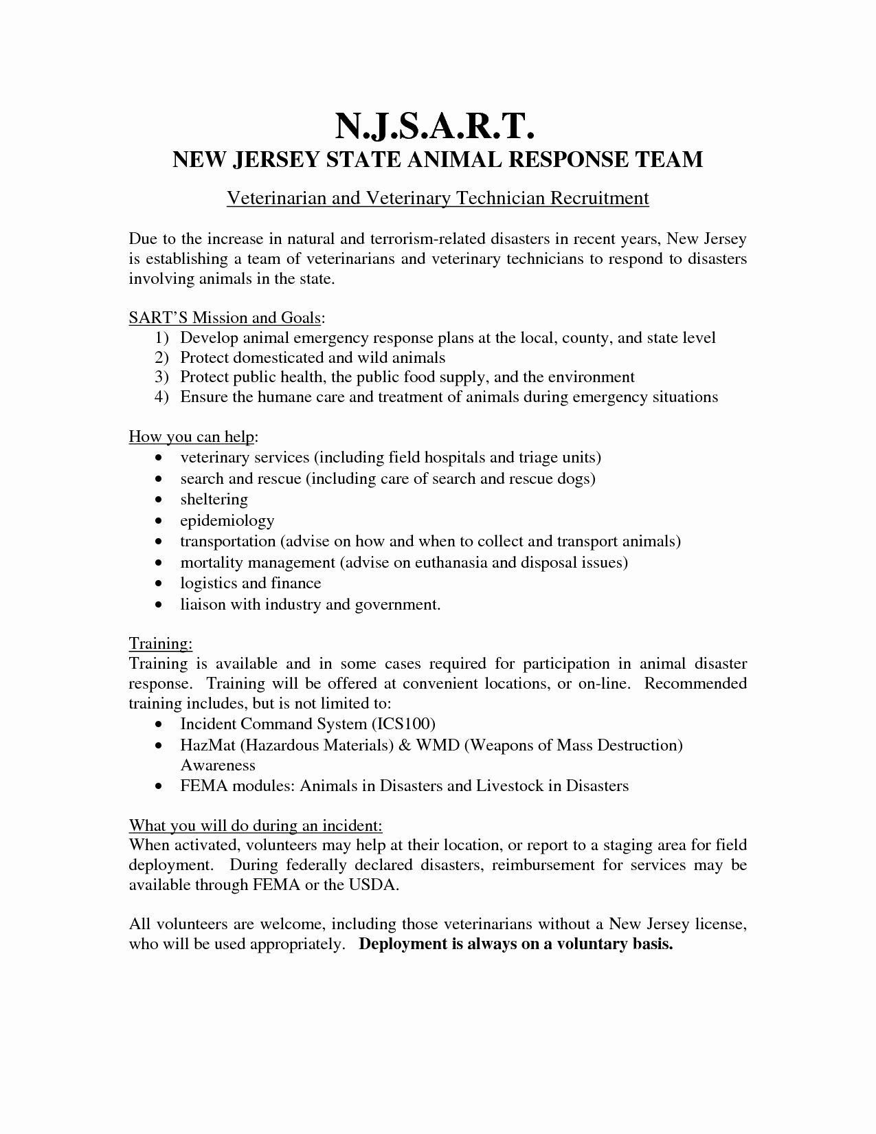 Veterinary Assistant Resume Example New Sample Cover Letter For Just Essay Biology