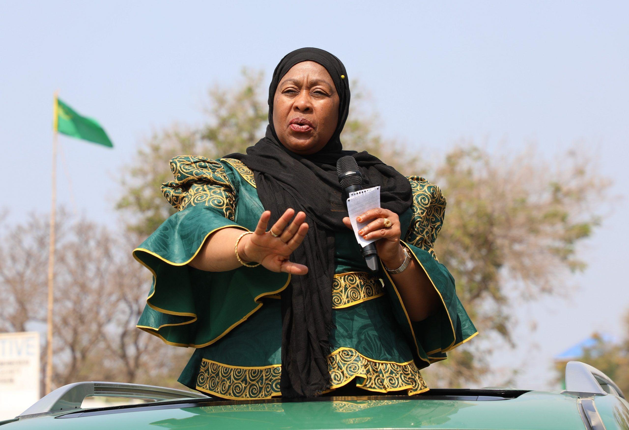 Samia Suluhu Hassan    First Female President of Tanzania