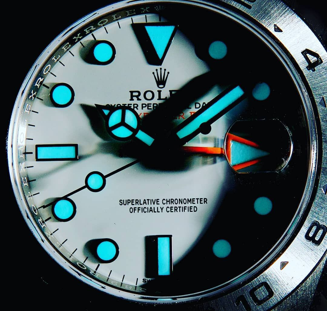 "��� Watches Only ���� on Instagram: ""MOONWATCH?? Rolex Explorer 2 Polar lume"