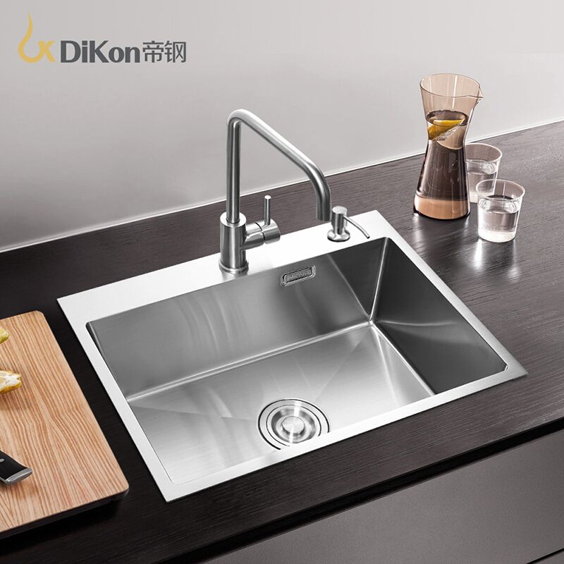 DiKon Kitchen Sink Deluxe 304 Stainless Steel Above Counter ...