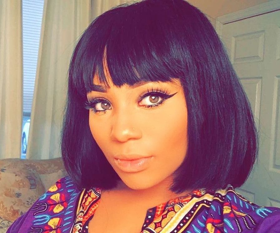 Short Bob With Chinese Bangs Hairstyles Pinterest