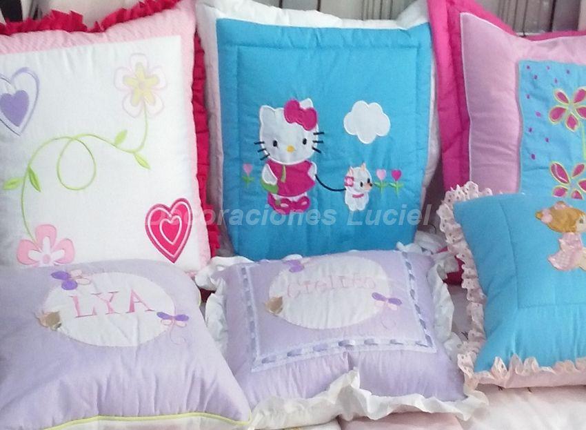 Cojines decorativos para ni os en gamarra decoraciones for Decoraciones infantiles para ninos