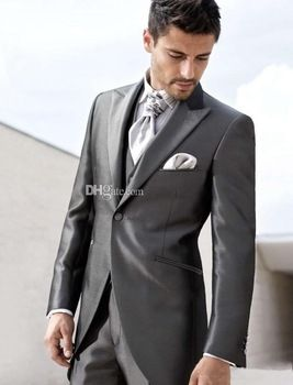 Dark Grey Wedding Suits | Sloan\'s stuff | Pinterest | Dark grey ...