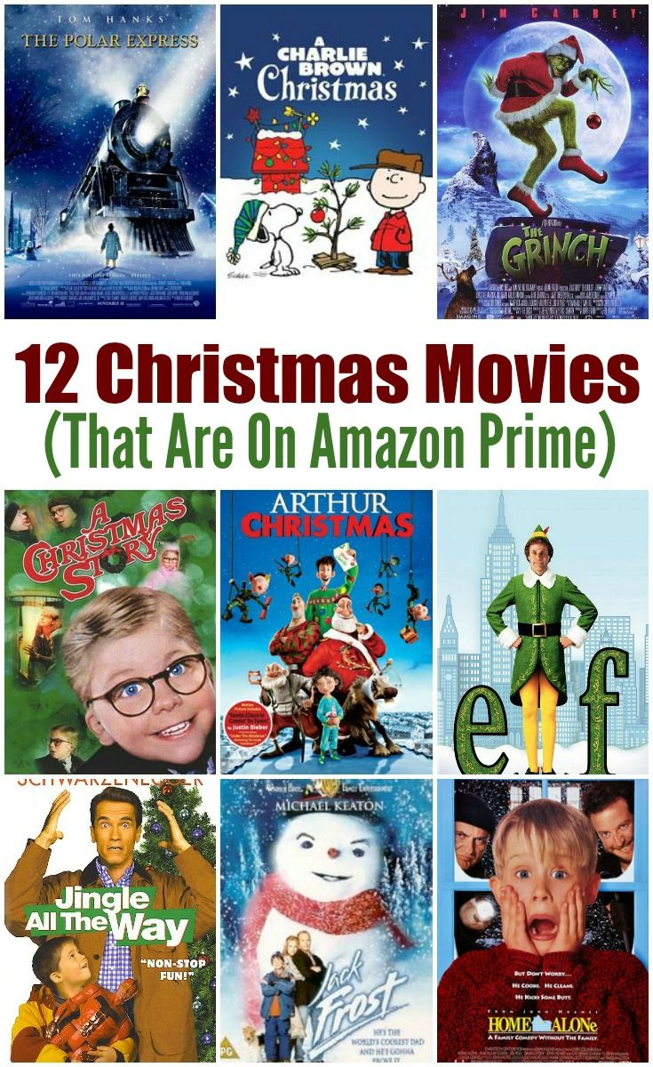 12 Must See Christmas Movies (That Are On Amazon Prime