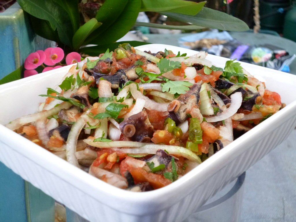 Ourite Sec Chatini Yummy Recipes Mauritian Food Octopus Salad