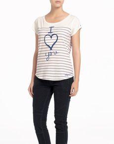 Camiseta de mujer Hilfiger Denim - Mujer - Camisetas y Polos - El Corte Inglés - Moda
