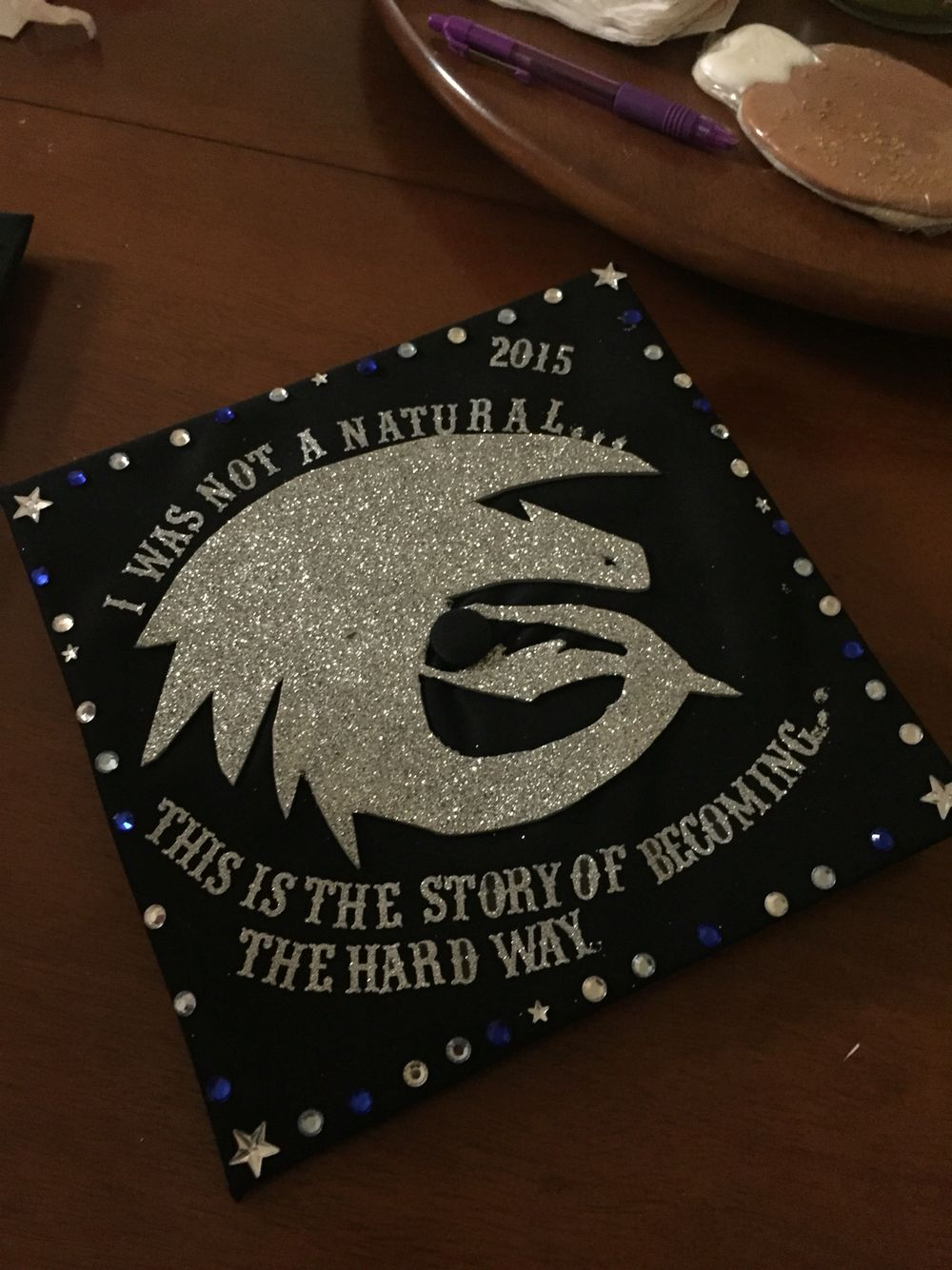 Graduation Cap Toothless How To Train Your Dragon Grad
