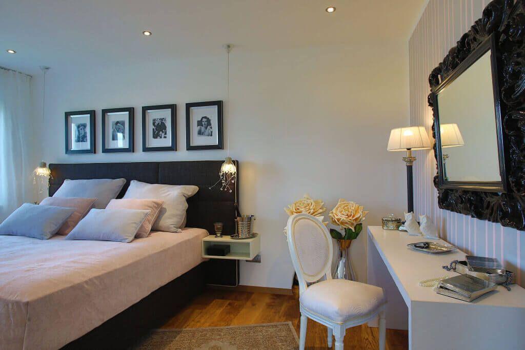 Schlafzimmer schwarz weiß - ELK Looft Haus Inneneinrichtung - schlafzimmer schwarz wei