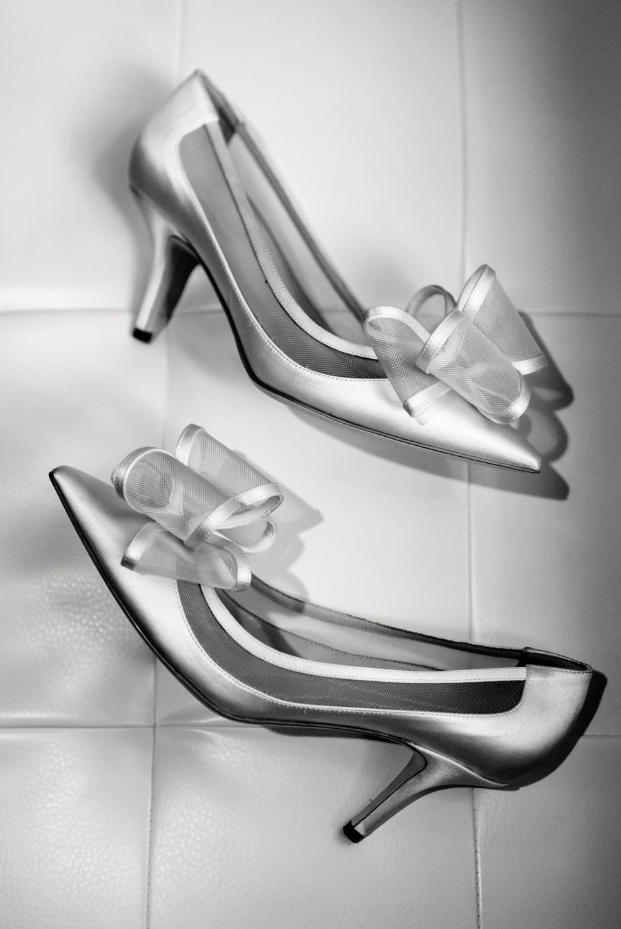 Classic bridal shoes with a bow: Photography : Ryon:Lockhart Photography - http://www.ryonlockhart.com/