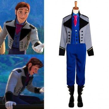 Disney Frozen Movie prince Hans Halloween Costume | Prince hans Disney frozen and Halloween costumes  sc 1 st  Pinterest & Disney Frozen Movie prince Hans Halloween Costume | Prince hans ...