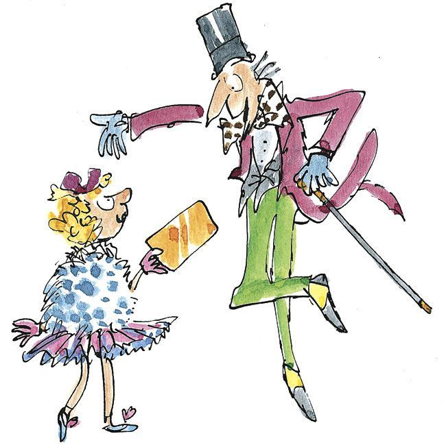 image result for quentin blake veruca salt charlie and
