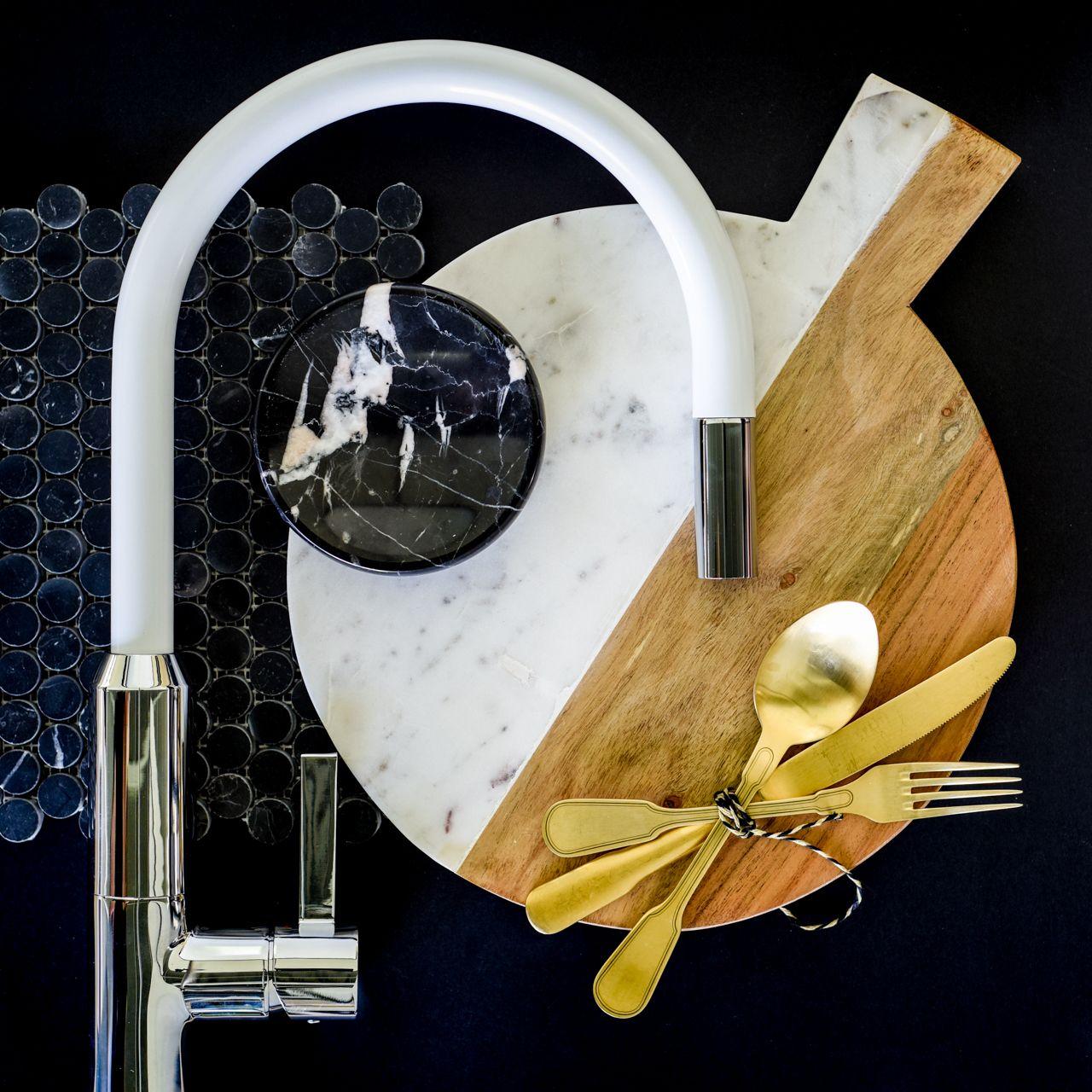 Divine interruption - contrasting texture. Dorf Vixen Sink Mixer ...
