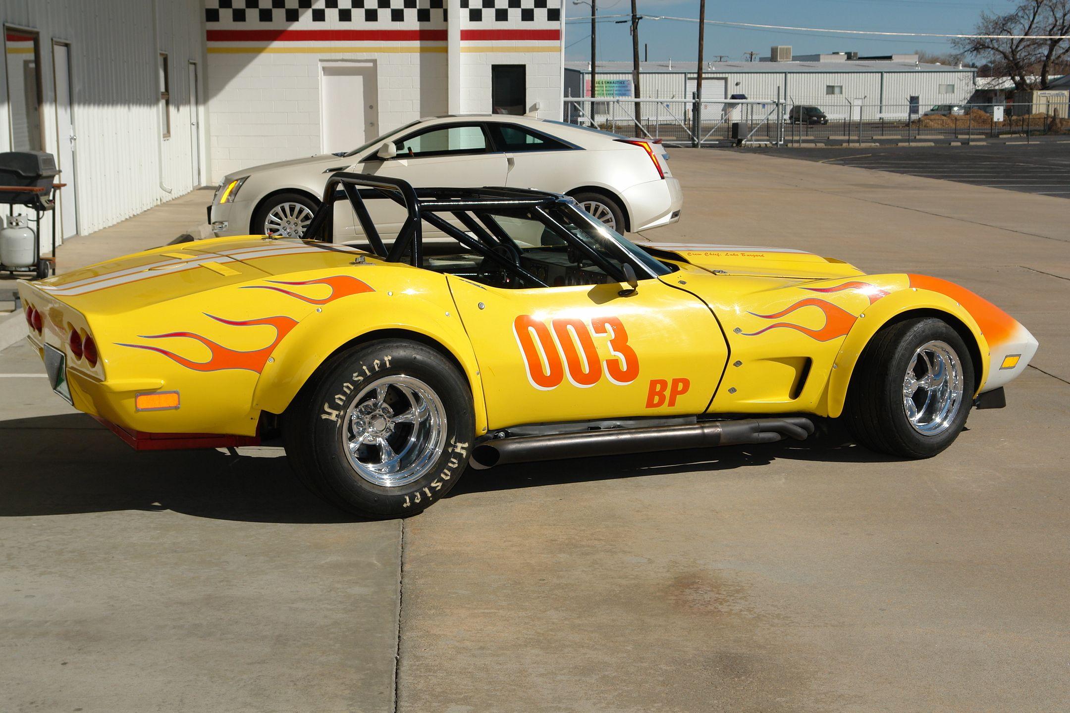 Race corvette 1969 corvette convertible road race car mathews collection