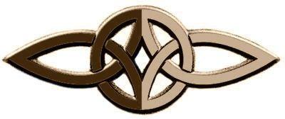Este Símbolo Celta De Amor Eterno Está Formado Por Dos Triskeles