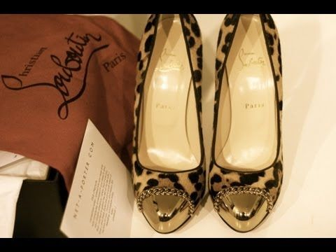 b544b0404fa9 Hello Lovers  YSL   Christian Louboutin Shoe Haul (November Goodies ...