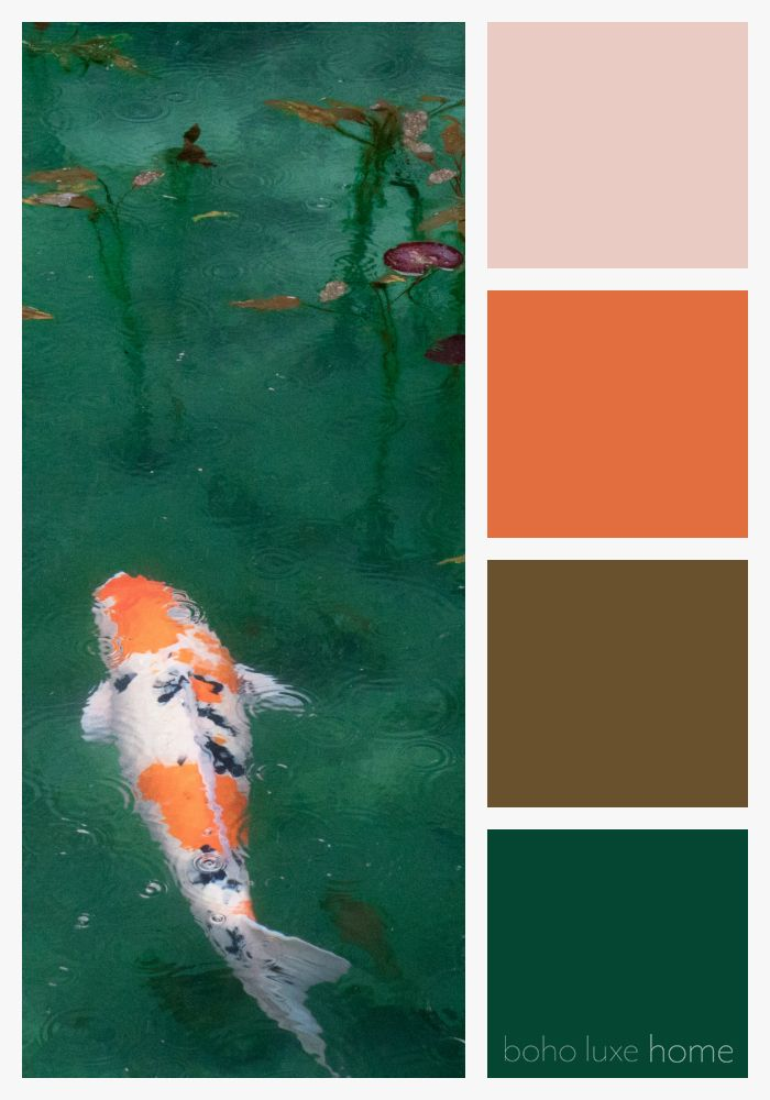 37 Color Palettes Inspired by Japan | Nature color palette ...