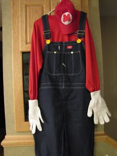 Sustainably Chic Designs: Mario Halloween Costumes