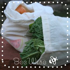Reusable produce bags, super easy, love love love