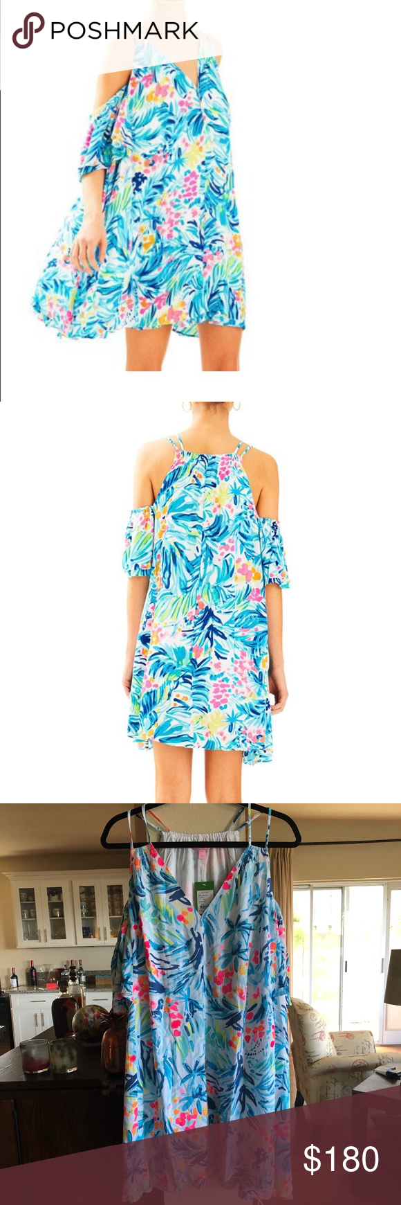 86abe7c6944 NWT Lilly Pulitzer Bellamie Dress | Cold shoulder, Hand washing and ...